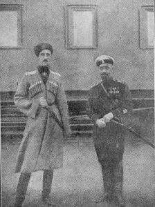 Генералы П.Н.Врангель и А.П.Кутепов