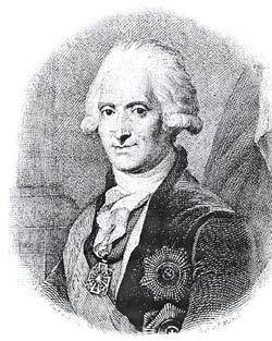Яков Ефимович Сиверс 1731-1808