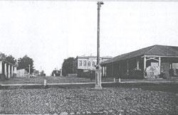 Перекресток Воскресенского проспекта и улицы Крестовской