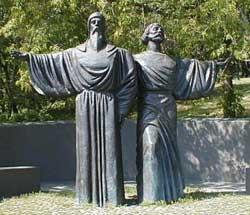 Феодосий и Афанасий Железный Посох